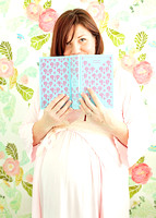 classic literature and maternity session jane eyre and anthropologie wallpaper